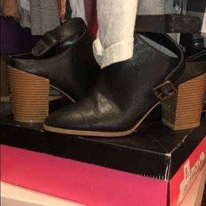 Black Charolette Russe booties